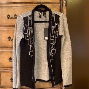 able boutique cardigan size s